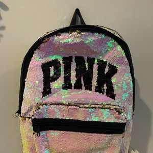 NWT Victoria's Secret PINK bling backpack